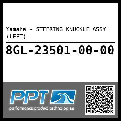 Yamaha - STEERING KNUCKLE ASSY (LEFT)