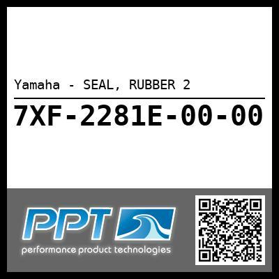 Yamaha - SEAL, RUBBER 2