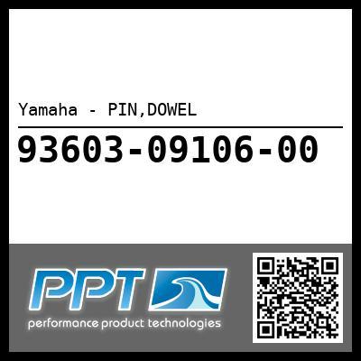 Yamaha - PIN,DOWEL