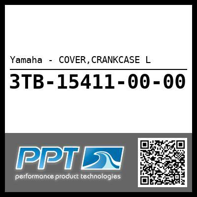 Yamaha - COVER,CRANKCASE L