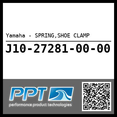 Yamaha - SPRING,SHOE CLAMP
