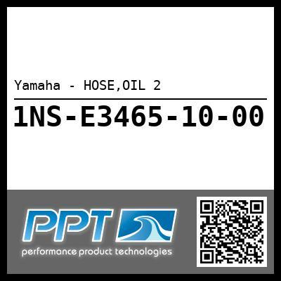 Yamaha - HOSE,OIL 2