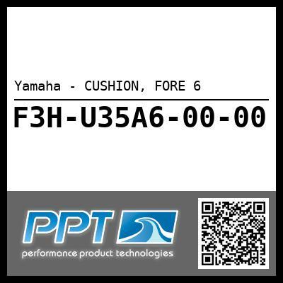 Yamaha - CUSHION, FORE 6