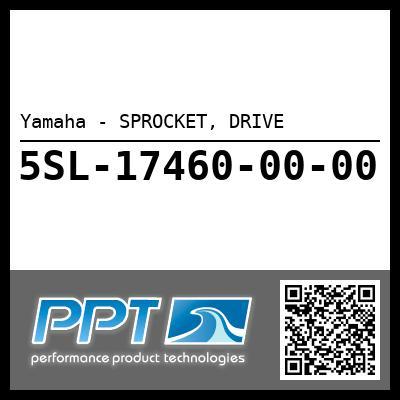 Yamaha - SPROCKET, DRIVE