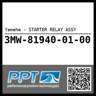 Yamaha - STARTER RELAY ASSY