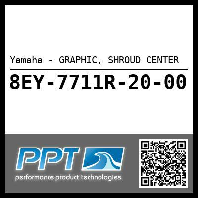 Yamaha - GRAPHIC, SHROUD CENTER