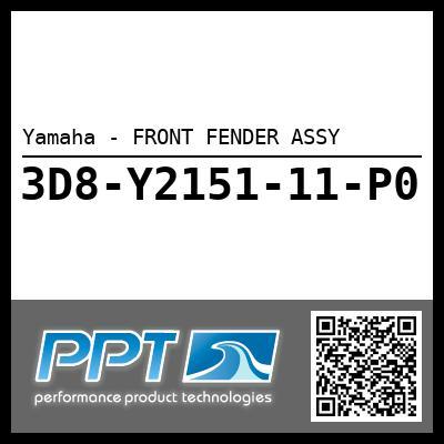 Yamaha - FRONT FENDER ASSY