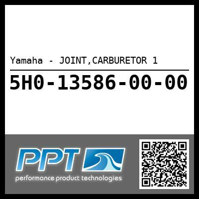 Yamaha - JOINT,CARBURETOR 1
