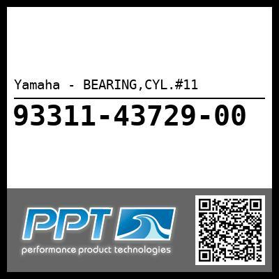 Yamaha - BEARING,CYL.#11