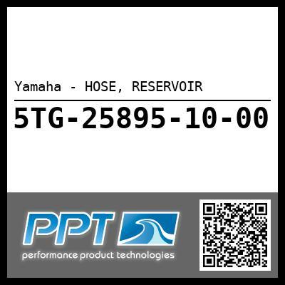 Yamaha - HOSE, RESERVOIR
