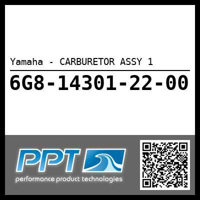 Yamaha - CARBURETOR ASSY 1