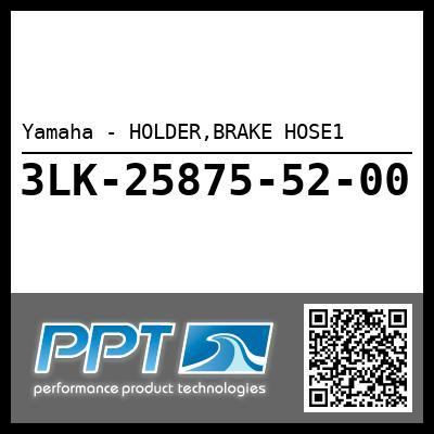 Yamaha - HOLDER,BRAKE HOSE1
