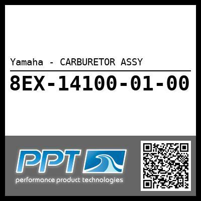 Yamaha - CARBURETOR ASSY