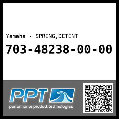 Yamaha - SPRING,DETENT