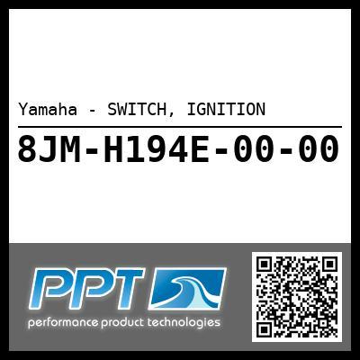 Yamaha - SWITCH, IGNITION
