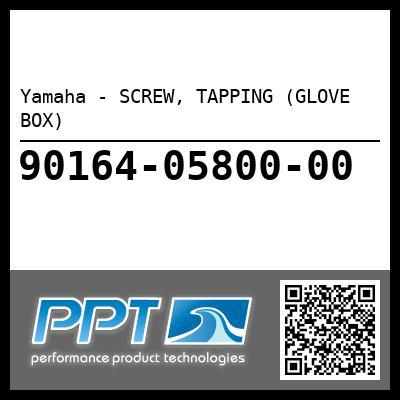 Yamaha - SCREW, TAPPING (GLOVE BOX)