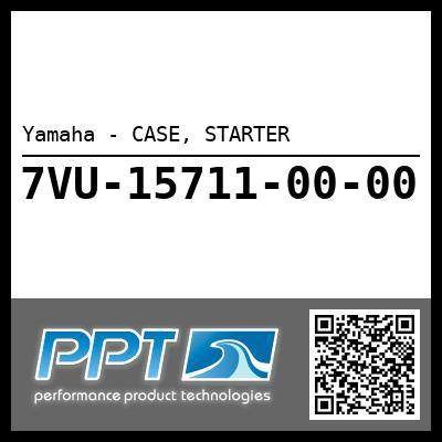Yamaha - CASE, STARTER