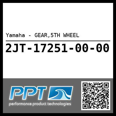 Yamaha - GEAR,5TH WHEEL