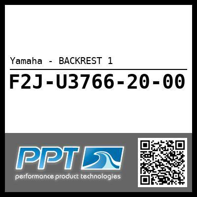 Yamaha - BACKREST 1