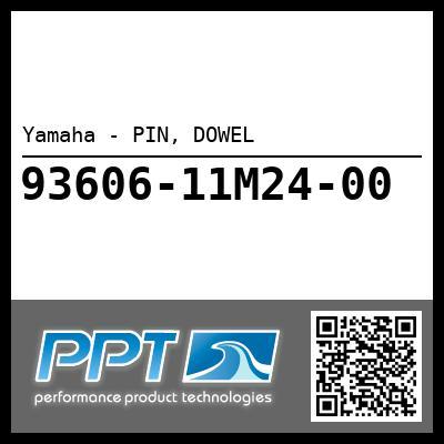 Yamaha - PIN, DOWEL