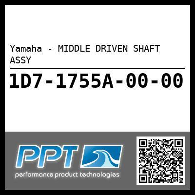 Yamaha - MIDDLE DRIVEN SHAFT ASSY