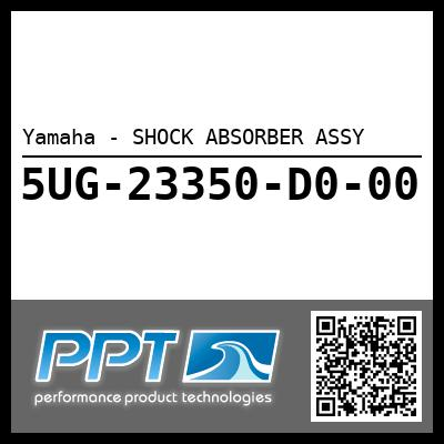 Yamaha - SHOCK ABSORBER ASSY