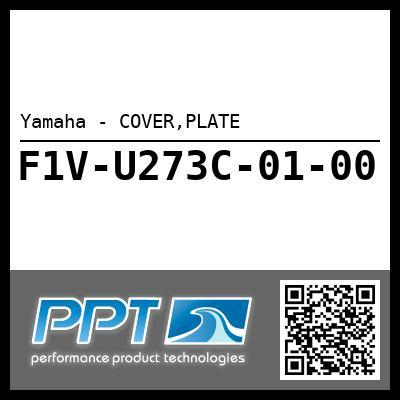 Yamaha - COVER,PLATE