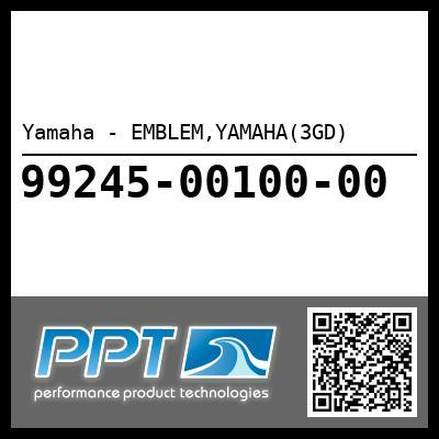 Yamaha - EMBLEM,YAMAHA(3GD)