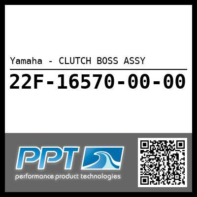Yamaha - CLUTCH BOSS ASSY