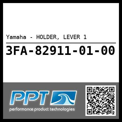 Yamaha - HOLDER, LEVER 1