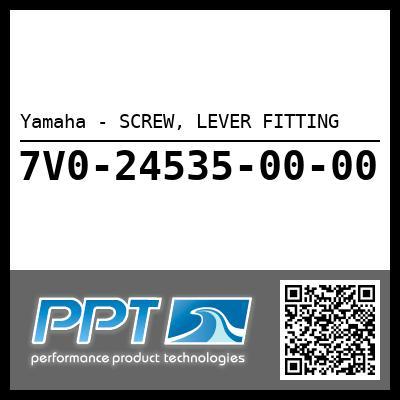 Yamaha - SCREW, LEVER FITTING