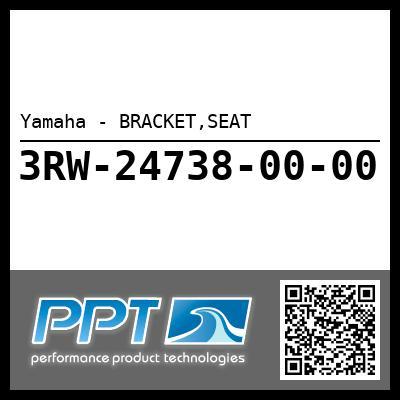 Yamaha - BRACKET,SEAT