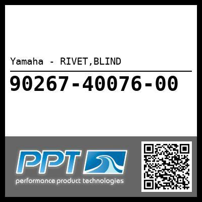 Yamaha - RIVET,BLIND