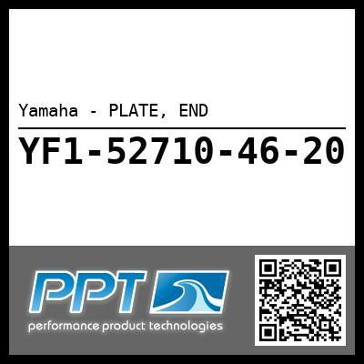 Yamaha - PLATE, END