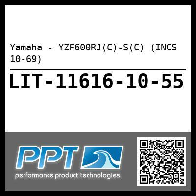 Yamaha - YZF600RJ(C)-S(C) (INCS 10-69)