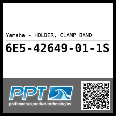 Yamaha - HOLDER, CLAMP BAND