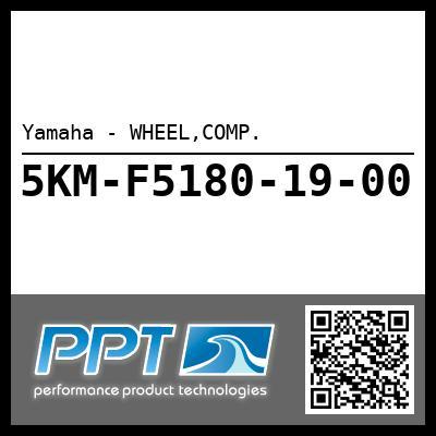 Yamaha - WHEEL,COMP.