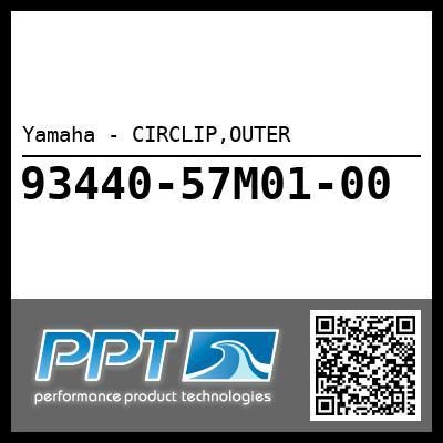 Yamaha - CIRCLIP,OUTER