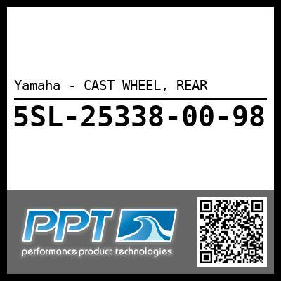 Yamaha - CAST WHEEL, REAR