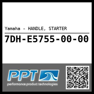 Yamaha - HANDLE, STARTER