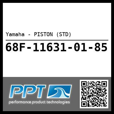 Yamaha - PISTON (STD)