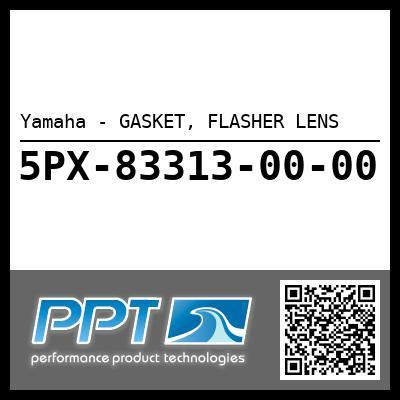 Yamaha - GASKET, FLASHER LENS