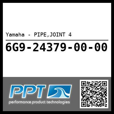 Yamaha - PIPE,JOINT 4