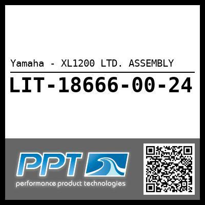 Yamaha - XL1200 LTD. ASSEMBLY