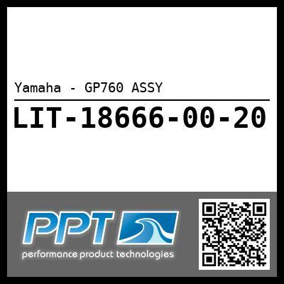 Yamaha - GP760 ASSY
