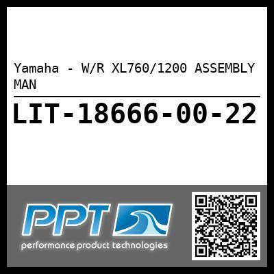 Yamaha - W/R XL760/1200 ASSEMBLY MAN
