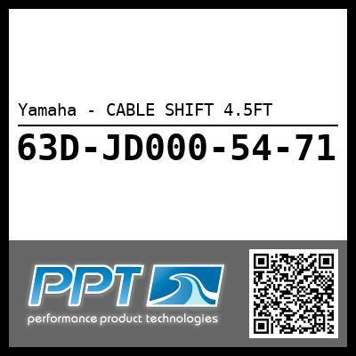 Yamaha - CABLE SHIFT 4.5FT