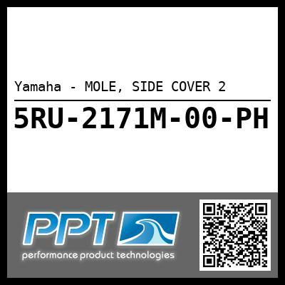 Yamaha - MOLE, SIDE COVER 2