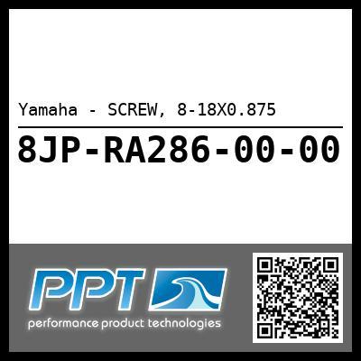 Yamaha - SCREW, 8-18X0.875