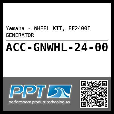 Yamaha - WHEEL KIT, EF2400I GENERATOR